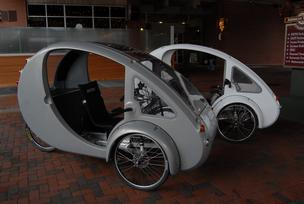 Organic Transit's ELF bike-car hybrid
