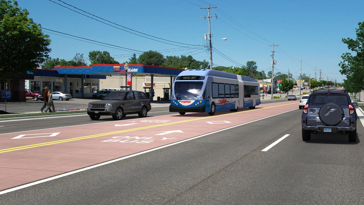 bus rapid transit route earns wauwatosa approval on divided vote