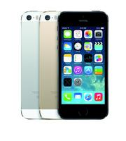 """The iPhone 5s is available in gold, black and """"space grey,"""" starting at $199 with a two-year service contract."""
