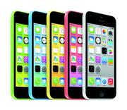 Surprised? Apple's top seller is the iPhone. Pictured is its iPhone 5c, a cheaper version with a plastic screen that costs $99 with a carrier subsidy.