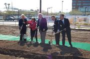 City and business officials break ground on the Arizona Cancer Center in February of 2013.