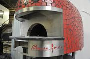 Marra Forni wood-fired brick ovens can also be converted to gas.