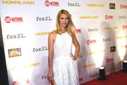 """Claire Danes, co-star of """"Homeland,"""" a CIA-focused drama, attended a screening for the show at the Corcoran Gallery of Art in in D.C. on Sept. 9."""