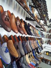 More of its shoe selection.