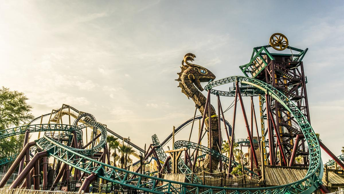 Busch Gardens Tampa Opens Cobra 39 S Curse Rollercoaster Video Tampa Bay Business Journal