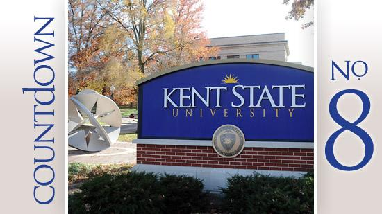 Kent State University National universities rank: 201  Tuition and fees:  $9,816 (in-state), $17,776 (out-of-state) Enrollment:  22,436