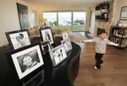 Now, after the remodel, there's plenty of space for 5-year-old Frankie to play in the living room.