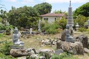 A Kahala Avenue property formerly owned by Genshiro Kawamoto had turned into a storage yard for statues meant for a planned Japanese tea garden. The Japanese billionaire  sold all 27 of his Kahala properties to Alexander & Baldwin Inc. for $98 million.