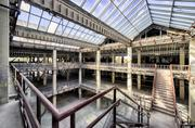 Talk about natural light. The interior of San Antonio Station today -- years after HP vacated the space -- is a stripped, blank slate. At one time, the project was slated to be turned into housing.