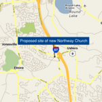 A 1,000-seat church proposed for Clifton Park