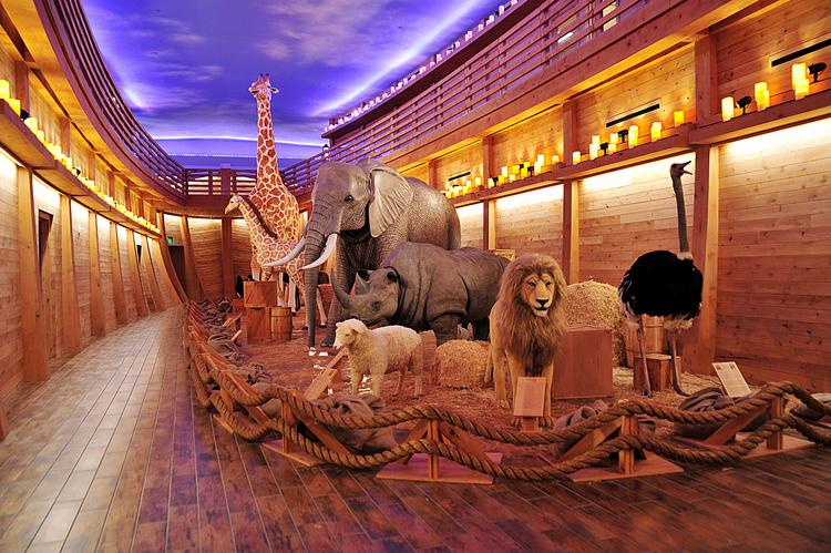 About 20,000 people came out to Cornerstone Church on March 16 to get a sneak peek at the new Noah's Ark display.