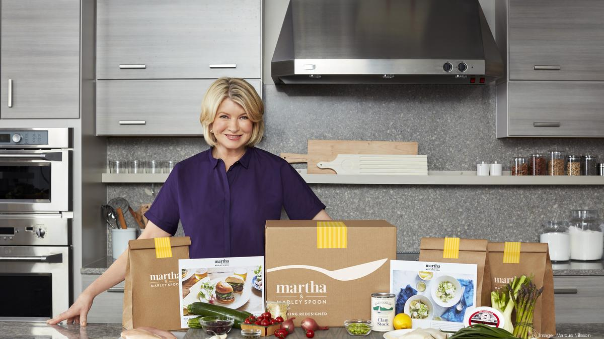 martha stewart marley spoon turn up heat in meal kit market new york business journal. Black Bedroom Furniture Sets. Home Design Ideas