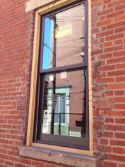 When new windows were placed in the buildings, HGC Construction used the original bricks surrounding the windows.