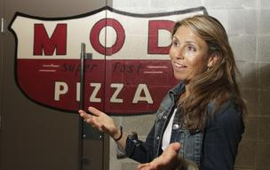 Ally Svenson one of the co-founders of Mod Pizza.