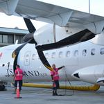 Island Air restarts flights to Kona after a 4-year absence: Slideshow