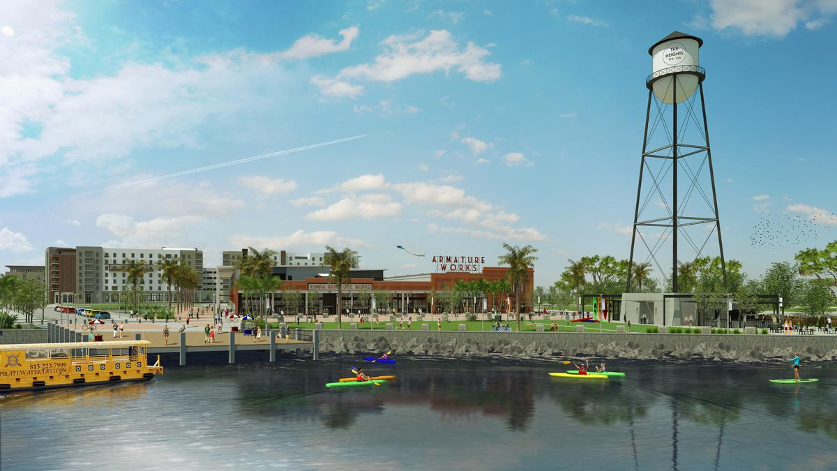 Ambitious Mixed Use Vision For Tampa Heights Waterfront Unveiled  (Renderings)   Tampa Bay Business Journal