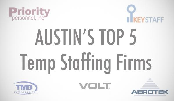 Click through the slideshow to see the top temporary staffing firm in Austin, which has 2.03 million hours billed for service.