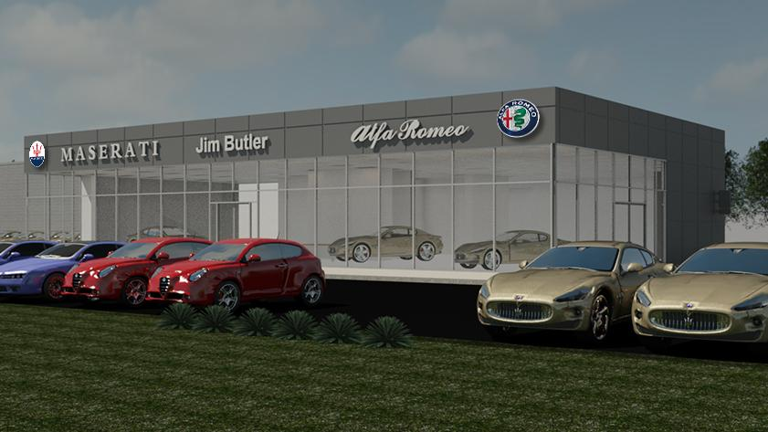 Jim Butler Auto Group To Break Ground On Maserati Alfa Romeo Site