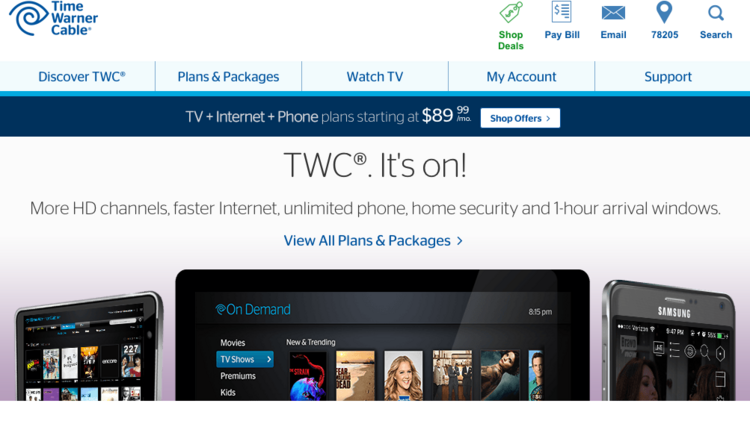 How Do I Find My Time Warner Cable Email Address: Time Warner Cable Inc. merges with Charter Communications Inc. and rh:bizjournals.com,Design