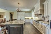 Another view of the custom kitchen.