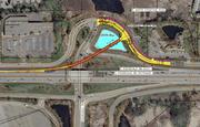 More construction will start in next spring on an $8 million on-ramp at Interstate 394 and Ridgedale Drive. Work should be wrapped up in time for the 2014 holiday shopping season.