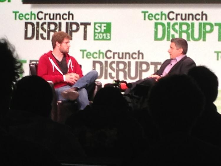Pebble founder Eric Migicovsky discusses the wearable computing market at the TechCrunch Disrupt conference in San Francisco.