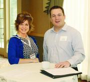 Stacy Reis of Cabinet Sales Plus and Joe Mull of Ally Training & Development.
