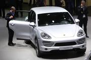 The Porsche Cayenne SUV at an auto show. Porsche sold 357 cars so far in 2013, the majority, 219,purchased by Dallas County residents.