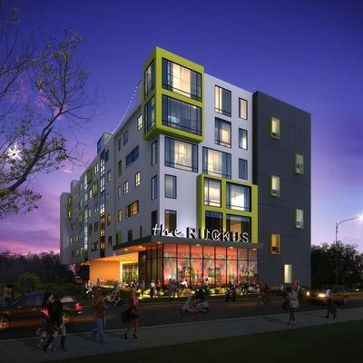 The Ruckus To Bring Luxury Student Housing Amenities To West Campus Near UT    Austin Business Journal