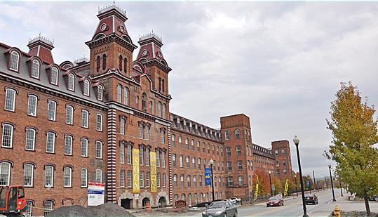 Restoration and renovation projects like Harmony Mills in Cohoes have benefited from existing historic tax credits. In this case, the developer turned a former mill into luxury apartments.