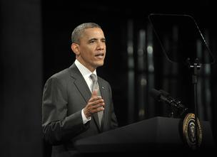 Obama: Global investors would prefer to see him return to the White House, beating challenger Mitt Romney, a former private equity executive.