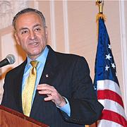 Sen. Charles Schumer (D-NY) saw his favorability remain at 65 percent both in August, the last time the question was polled, and in December. His unfavorables dropped from 26 percent in August to 24 percent in December.
