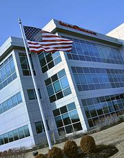 The medical devise manufacturer AngioDynamics, housed in this Latham, New York building, is The Business Review's Company of the Year.
