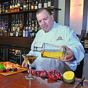 Larry Schepici, executive chef at The Brown Derby in downtown Albany, and his family will spend the weekend with his eight siblings and their families at his mother's house in Boston.