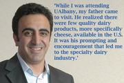 Since being named a 40 Under Forty in 2009, Hamdi Ulukaya's enterprise has gone mainstream. Born in Turkey, the CEO and founder of Chobani studied for his MBA at UAlbany and is now considered by some to be the king of yogurt.