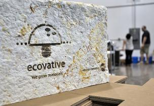 Ecovative Design opened its first commercial plant to manufacturer its green packaging product.