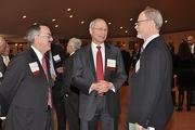 James Connolly, CEO of Ellis Medicine; Dr. James Reed, CEO of St. Peter's Health Partners and Dr. John Rugge, CEO of Hudson Headwaters Health Network