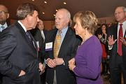 James Barba, CEO of Albany Medical Center, with former state budget director R. Wayne Diesel and Carol Diesel