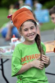 Maggie Proper having fun at activity day.Fast fact: The median salary of K-12 teachers in the Bethlehem Central School District was $60,746 during the 2010-11 school year.