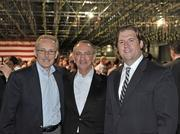 "(From left) Kevin O'Connor, CEO of Tech Valley Communications, Tony Gaetano, former head of the Watervliet Arsenal's Business & Technology Partnership, and Peter Gannon, current president of the Arsenal Partnership. ""This isn't a regional economic development project. These are the kinds of projects that move markets,"" said O'Connor."