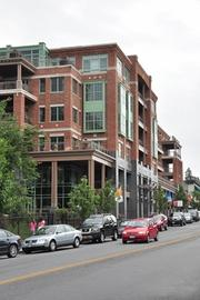 Park Place, a $55 million luxury condo/retail project bordering Congress Park in downtown Saratoga Springs, New York. It was completed in 2010 for Bonacio Construction Inc.