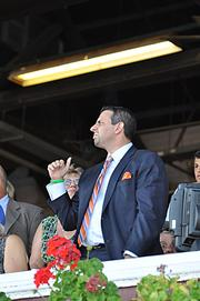 ... but a win was not in the cards this time, as Caixa Eletronica finishes fourth at a Sept. 1 race in Saratoga.