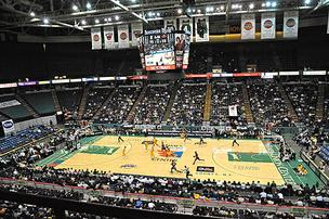 The Times Union Center is home to the Siena College men's basketball team.