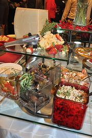 Scotia-based Mazzone Hospitality was the reception's caterer for the fourth consecutive year.