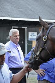Parcells purchased two horses for a total of $70,000, including one from Joe McMahon, a breeder whose farm is on the outskirts of Saratoga Springs.