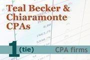 Rank: 1 (tie)Teal Becker & Chiaramonte CPAs P.C.7 Washington Square, AlbanyCapital Region CPAs: 45 Principal: Robert Kind