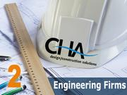 Rank: 2   CHA3 Winners Circle, Albany2012 Capital Region engineering billings: $156 millionPresident or Capital Region principal: Rod Bascom, Ray Rudolph Jr.