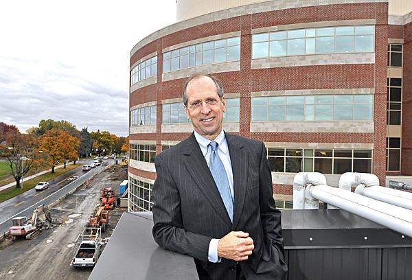 As CEO of St. Peter's, Boyle spearheaded a $258 million modernization and expansion project  that made over most of the hospital and added a six-story patient  pavilion.