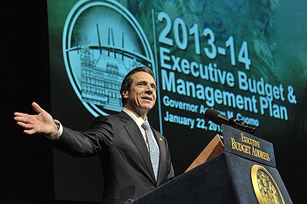 Gov. Andrew Cuomo gives New York's 2013-14 budget address