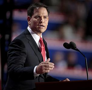 Senator Marco Rubio, (R-Fla.) gave the Republican response to the State of the Union Address last night.